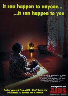 Poster - It can happen to anyone…it can happen to you