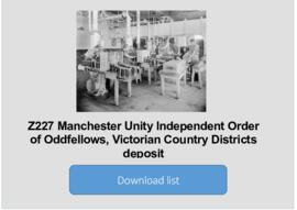 Manchester Unity, Victorian Country Districts deposit