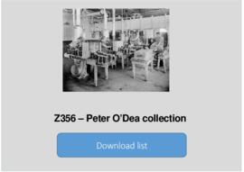 Peter O'Dea Collection