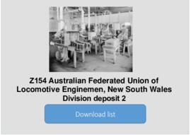 Australian Federated Union of Locomotive Enginemen, New South Wales Division deposit 2