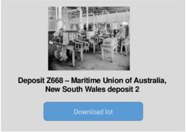 Maritime Union of Australia, New South Wales Branch deposit 2