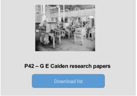G E Caiden research papers