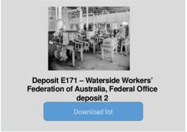 Waterside Workers' Federation of Australia, Federal Office deposit 2