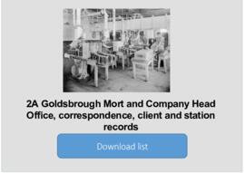 Goldsbrough Mort and Company Head Office, correspondence, client and station records