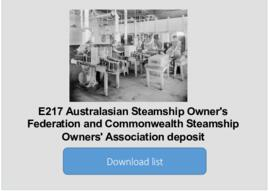 Australasian Steamship Owner's Federation and Commonwealth Steamship Owners' Associatio...