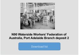 Waterside Workers' Federation of Australia, Port Adelaide Branch deposit 2